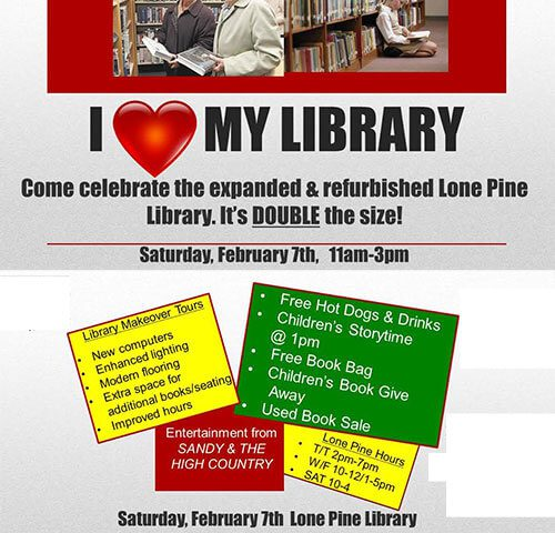 Inyo County Library, Lone Pine Branch